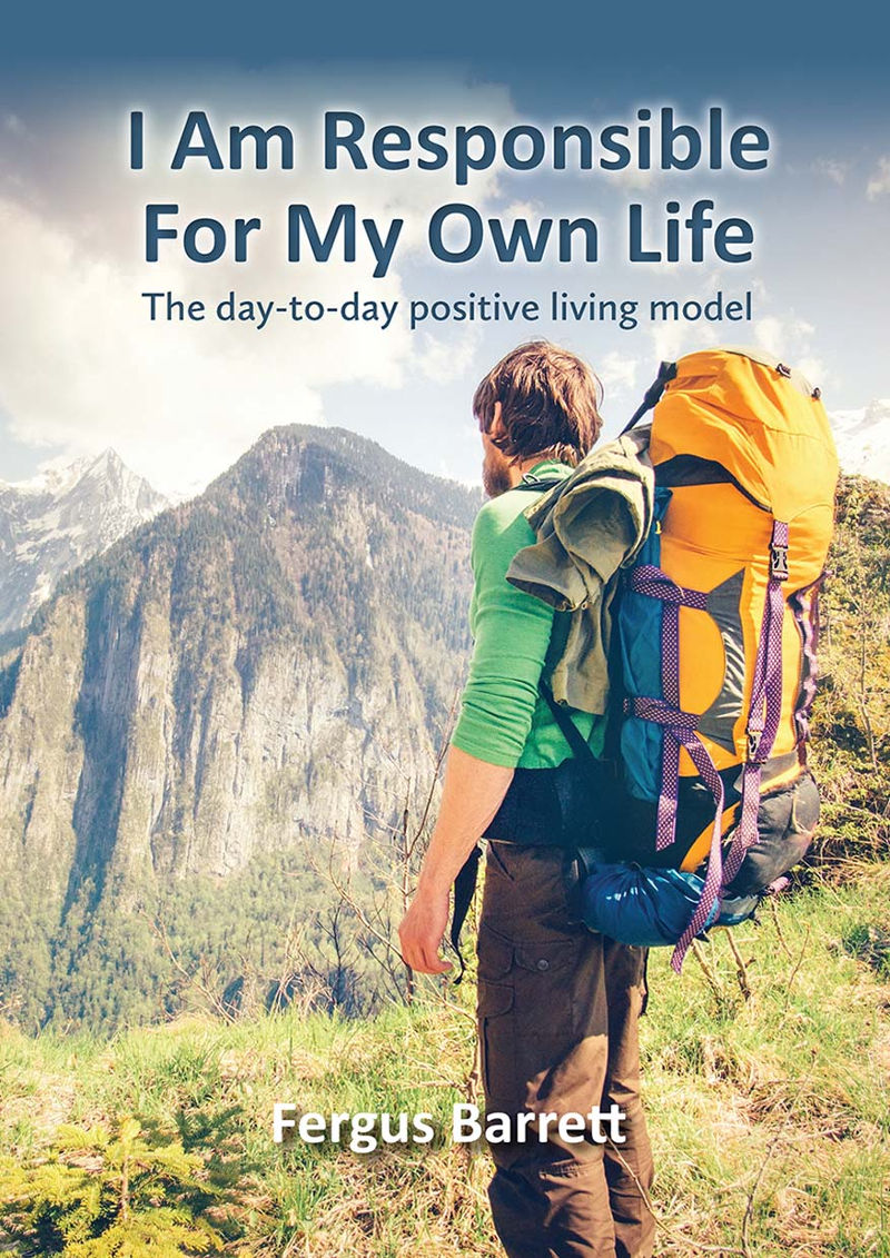 Fergus Barrett book 'I Am Responsible For My Own Life'